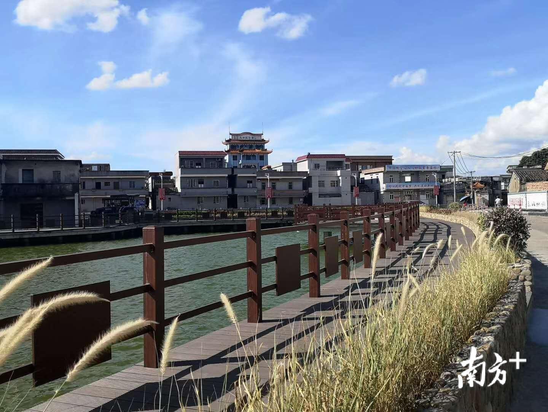 恩平市牛江镇昌梅村环境不断改善,为乡村旅游打下基础。 通讯员供图