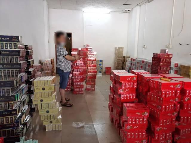 广州警方捣毁_广州南沙警方捣毁一存储假烟仓库 缴获假烟4400余条案值45万元 ...