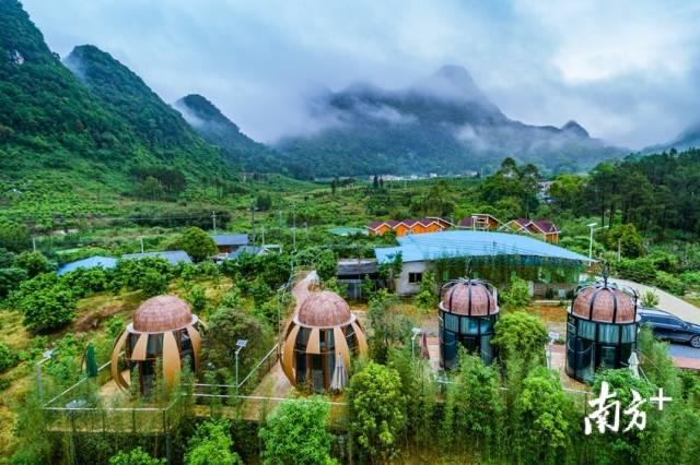 塘坑村民宿旅游项目为脱贫攻坚注入了新活力。受访者供图