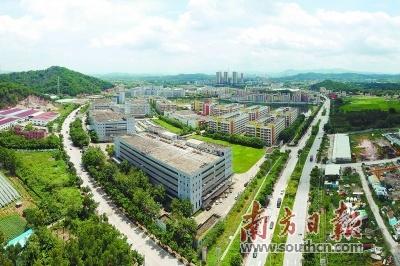 东江科技园将打造成千亿园区。 南方日报记者 梁维春 摄