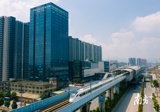 莞惠城际拉近惠州与东莞的距离,未来还将对接深惠城际、赣深高铁。