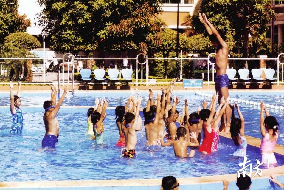中国跳水汕头训练基地。张伟炜 翻拍