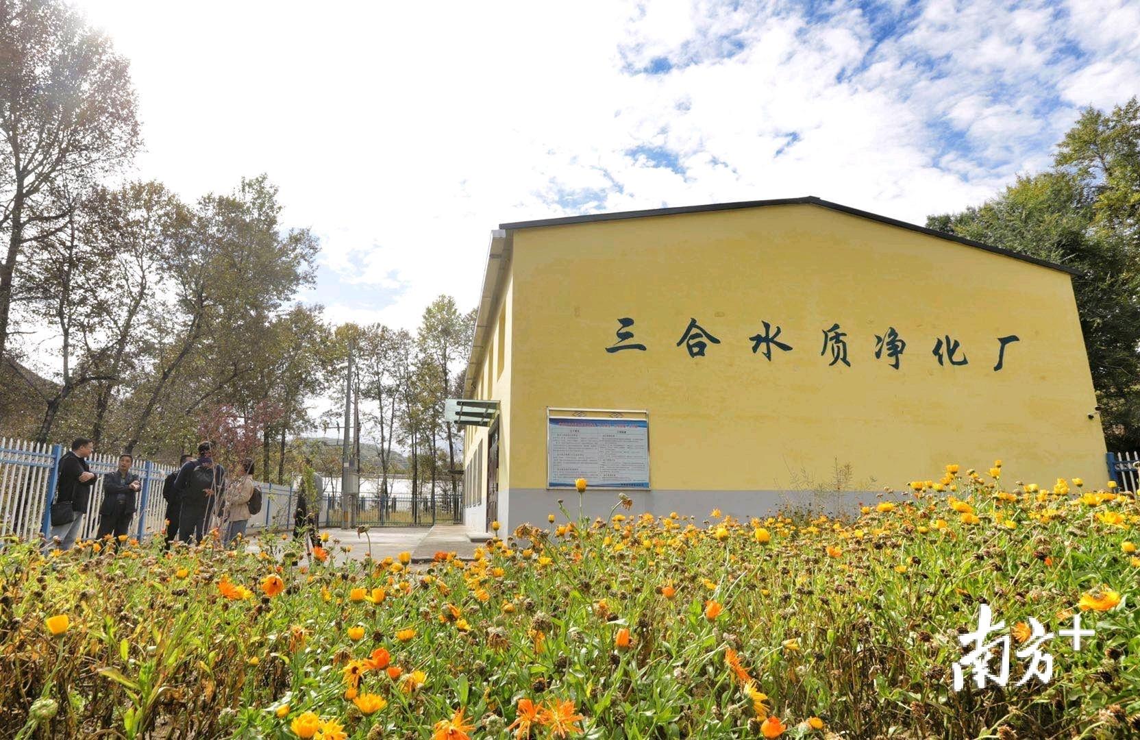 建成于去年6月的三合水质净化厂,是近年来平安区实施的又一人饮巩固提升工程项目。