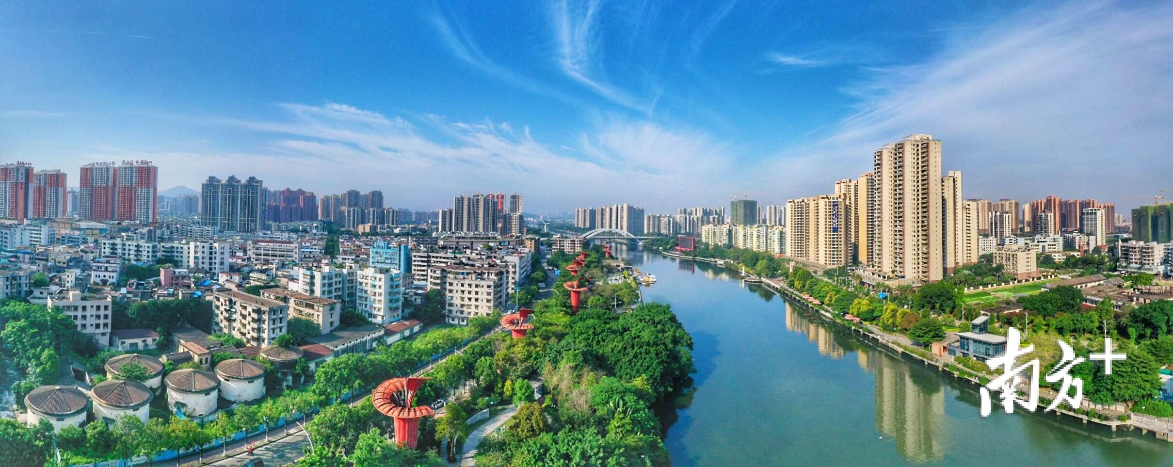 流淌不绝的岐江河,赋予了中山延续古今的城市活力。