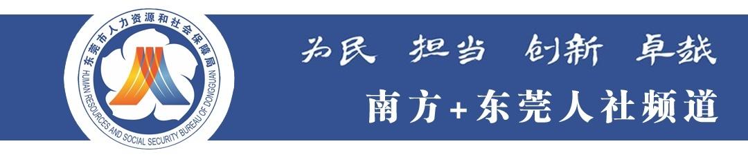 东莞人社频道头图