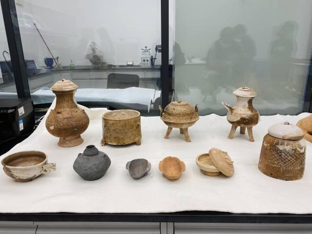 出土的汉代器物