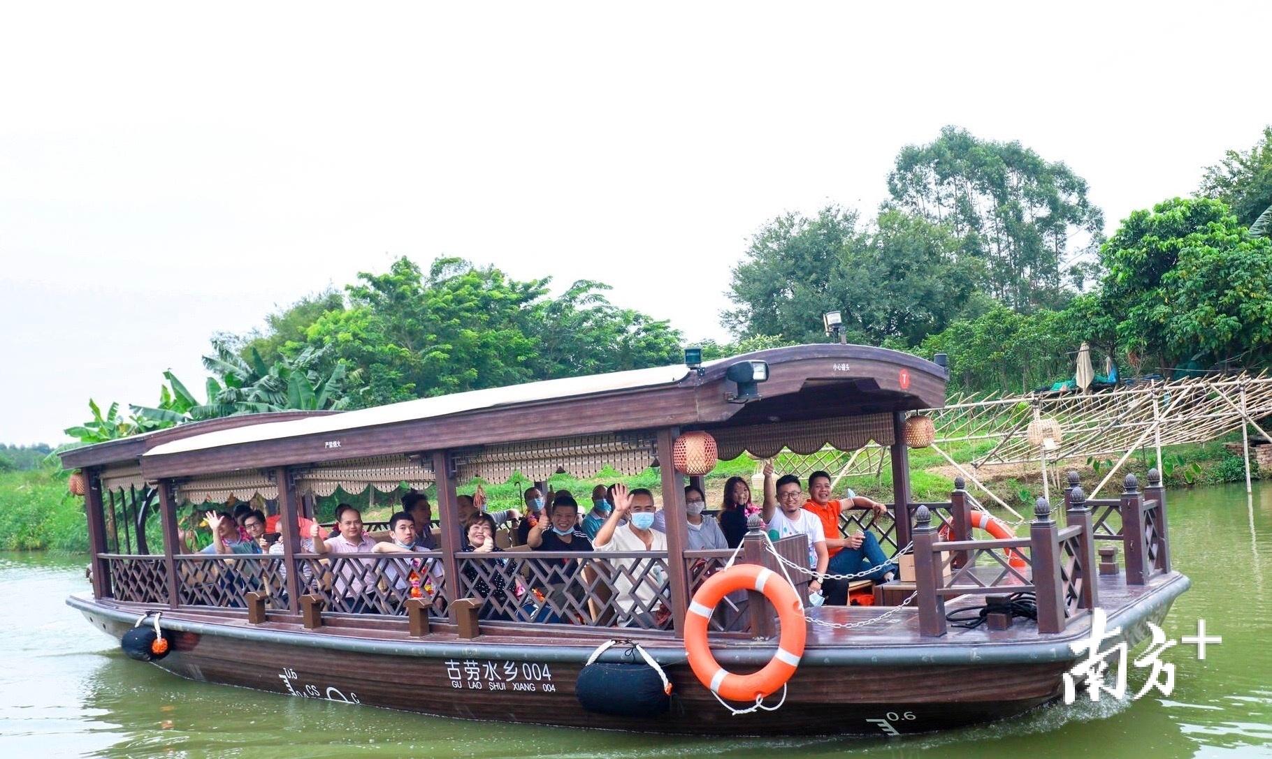 鹤山城市文明治安好,游客玩得尽兴、玩得安心。鹤山市委政法委供图