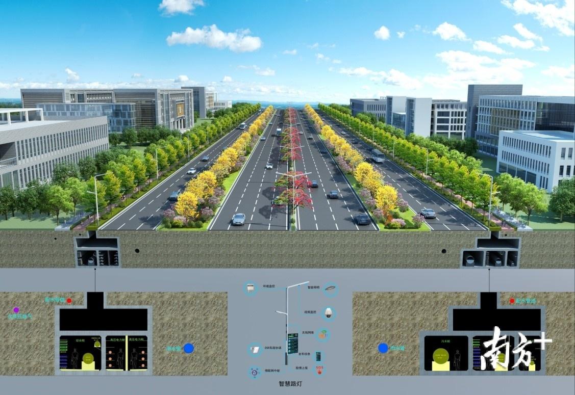梅观高速市政化改造工程将修建深圳南北中轴线上首条双侧管廊