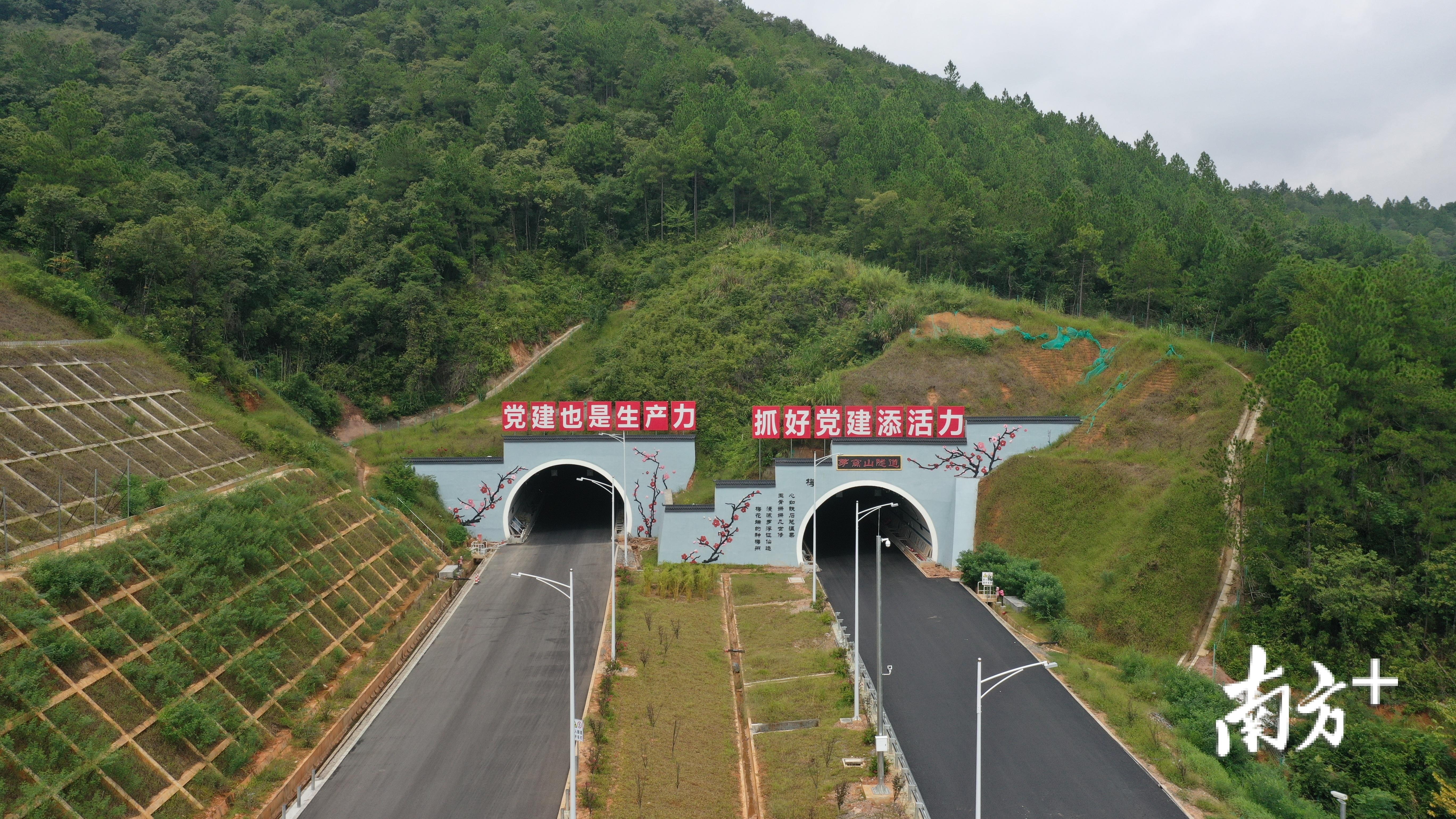 东线高速于11月4日完工验收。(梅州东线高速供图)