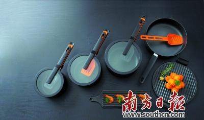 以出口为主的新兴不锈钢餐厨具享誉海外市场。资料图片