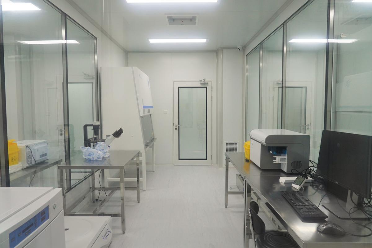纳米mRNA疫苗生产GMP车间。