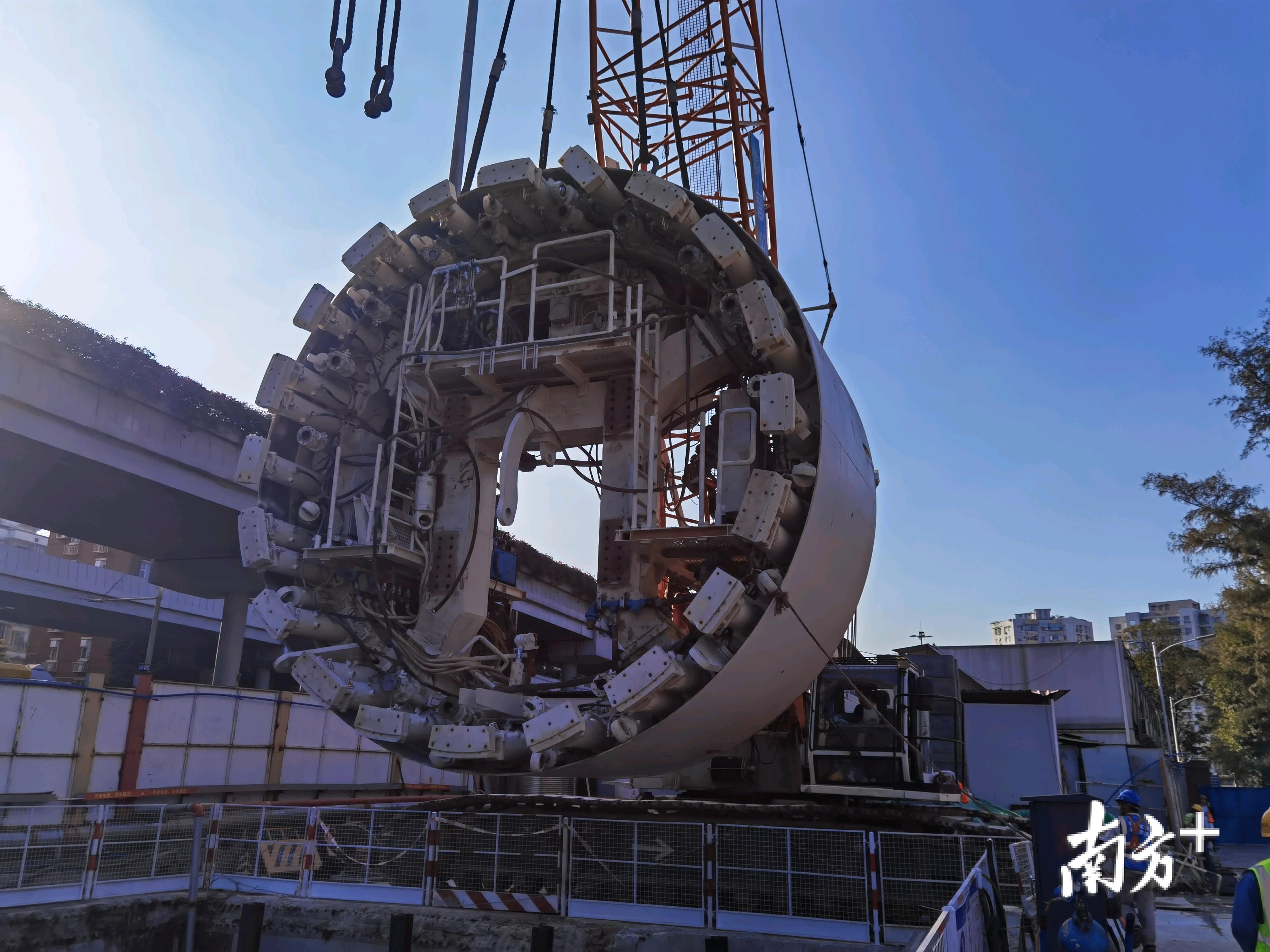马不断蹄!去年广州cc国际网投平台地铁盾构隧道掘进124公里
