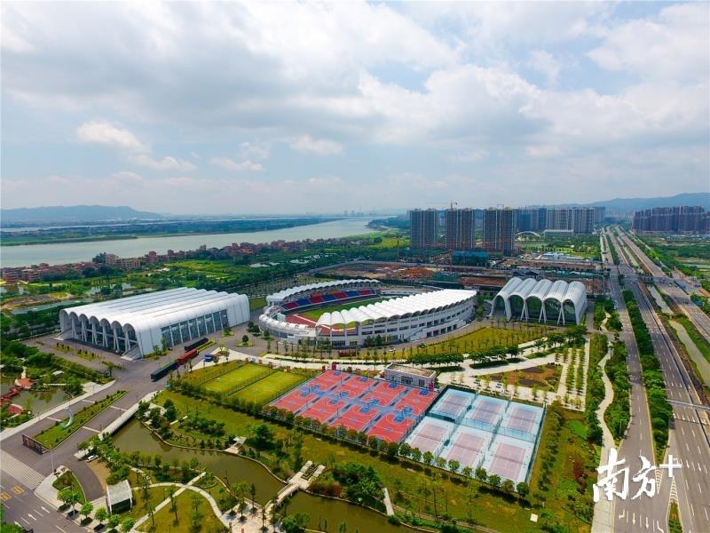 """""""美丽高明""""打心动将为开启追赶超越发展新征程奠定良好的环境基础。西江产业新城供图"""