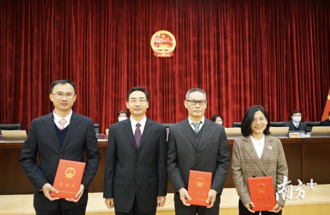 东莞市十六届人大常委会第三十九次会议召开,表决通过一批人事任免事项