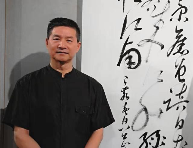 广东省书法评论家协会主席王世国。受访者供图