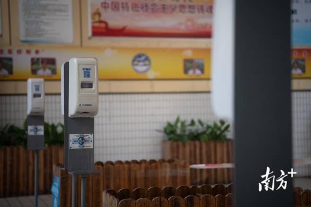 6月6日,广州荔湾金道中学考点,防疫消毒物资都已经为考生们准备好。南方日报记者 张梓望 肖雄 摄