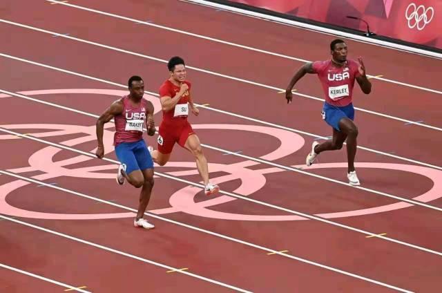 在东京奥运会男子100米决赛中,苏炳添获得第六名。(来源:新华社)