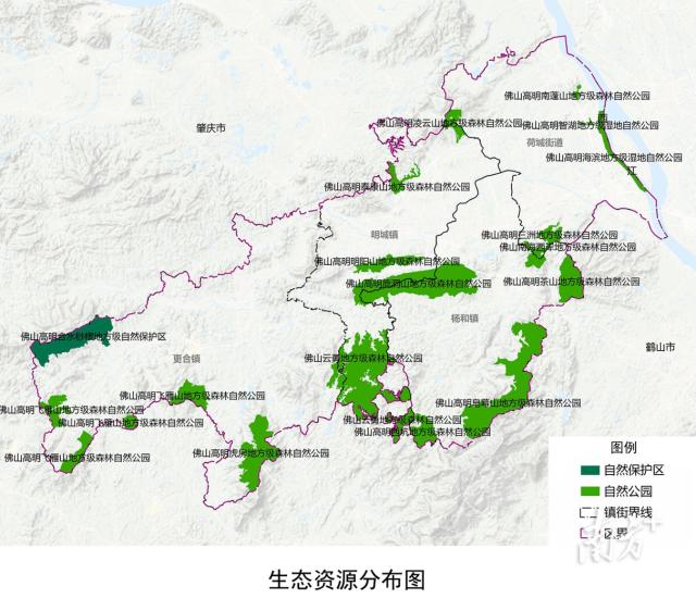 生态资源分布图。图片来自《规划》