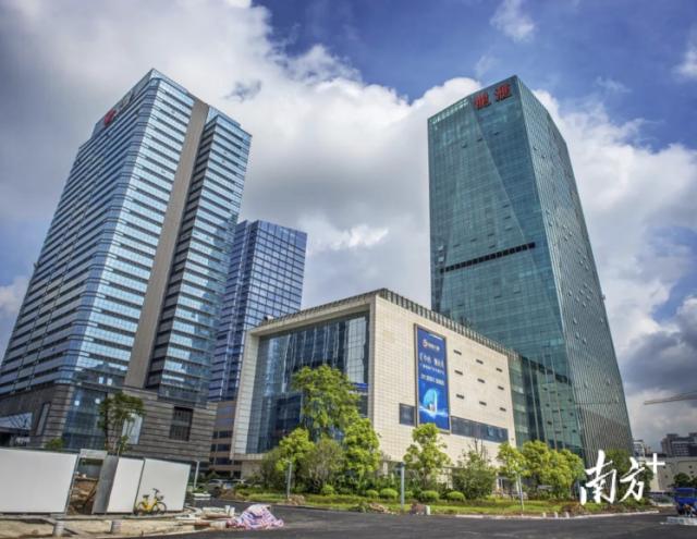 广东有色金属交易中心所在的龙汇大厦。龙汇大厦供图