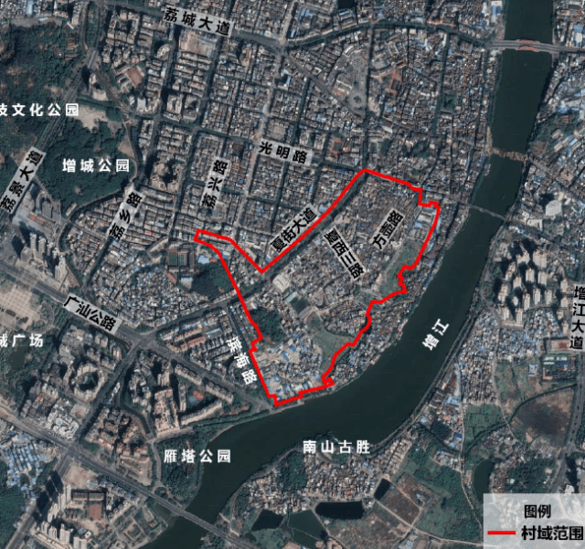 夏街村区位图
