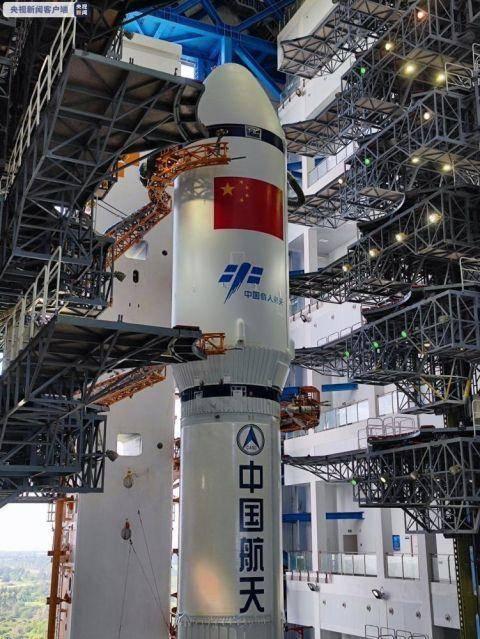 9月16日,天舟三号货运飞船与长征七号遥四运载火箭组合体已垂直转运至发射区,意味着中国空间站建设阶段的第四次发射近在眼前。
