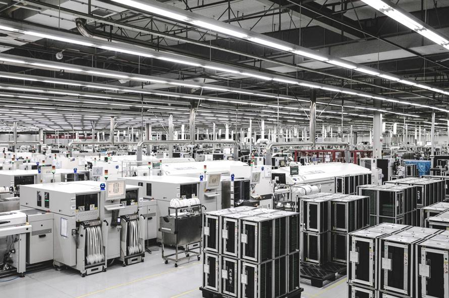 德赛西威数字化工厂。