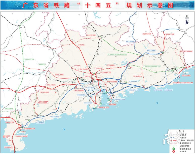 广清永高铁也出现在规划示意图中。