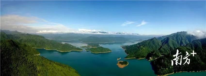 南水水库供水工程的水源地——风景秀丽的广东乳源南水湖国家湿地公园。钟华 摄