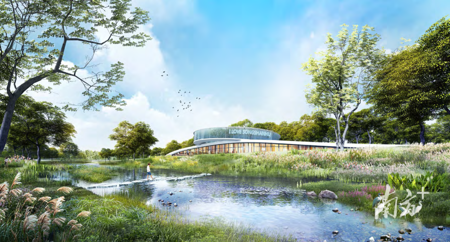 松山湖科学公园建设效果图(局部)