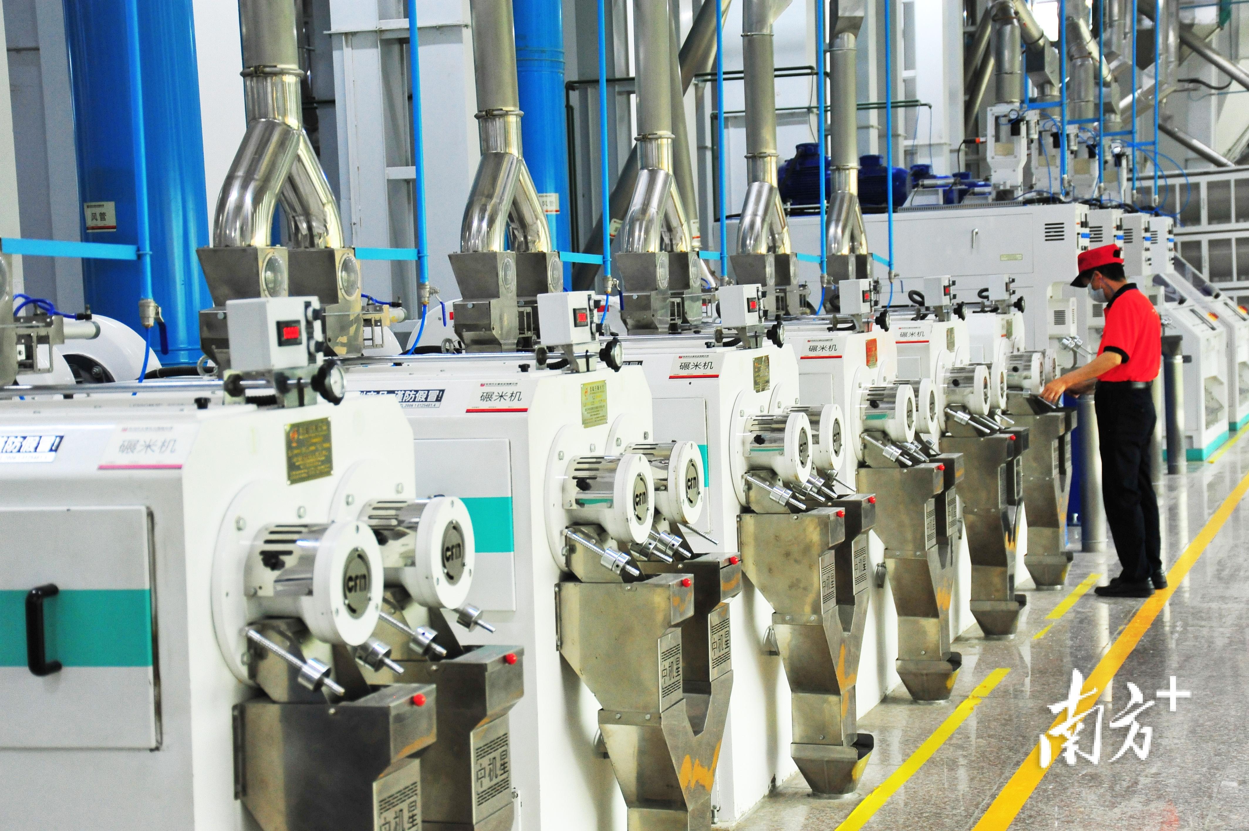 太粮米业自动化生产线
