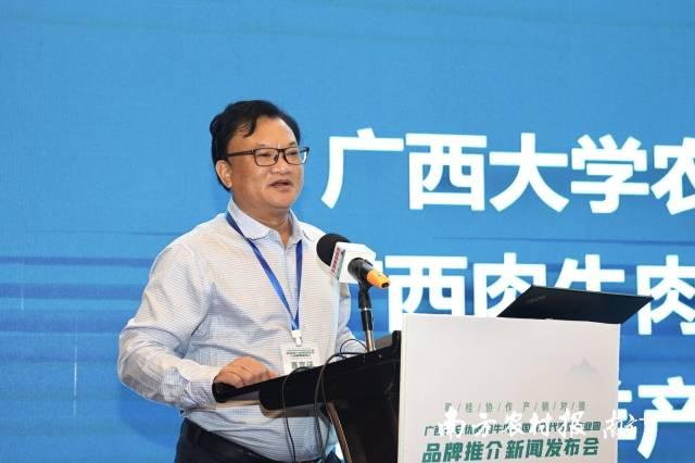 广西肉牛羊产业创新团队首席专家韦英明研究员