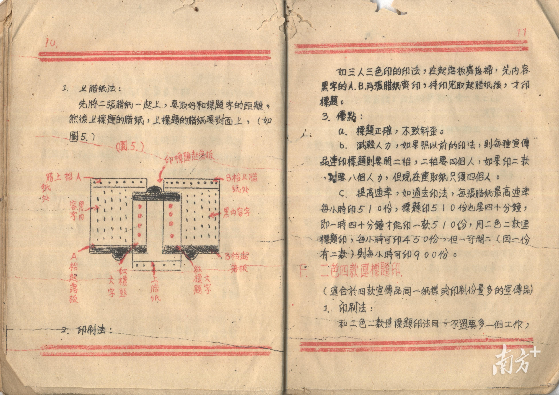 东江纵队前哨出版社《油印经验介绍》